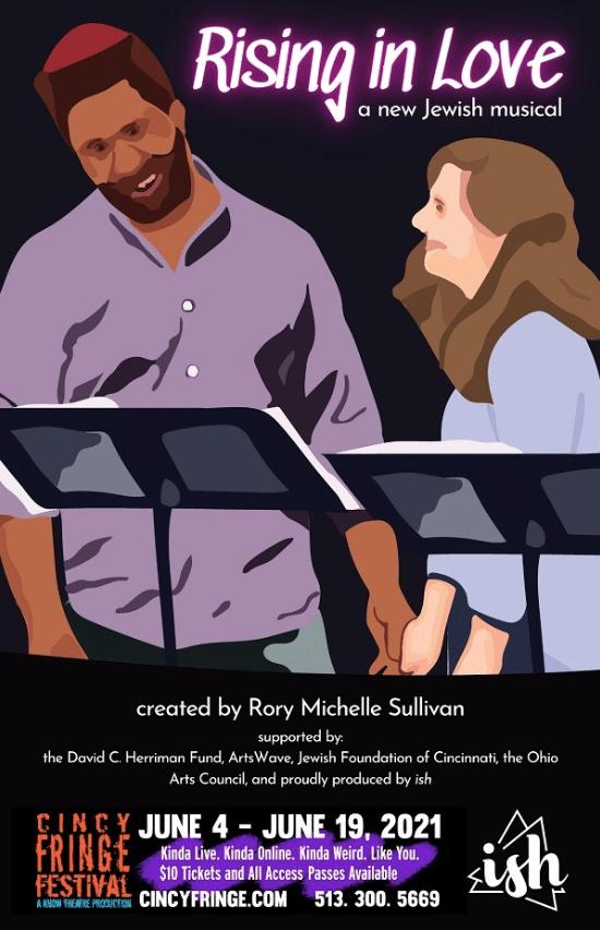 Rising in Love - ish - Cincy Fringe - June 2021 Poster